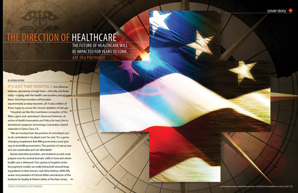 future direction of healthcare Factors in the future of healthcare shifts in direction we can expect to see four major types of change in healthcare around the world in the coming decades.